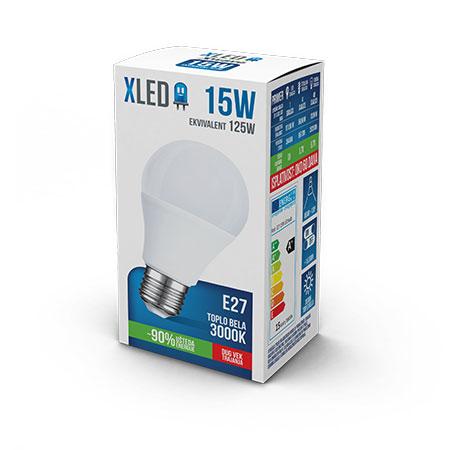 Xled E27 15W 3000K