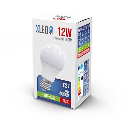 Xled E27 12W 4000K 01