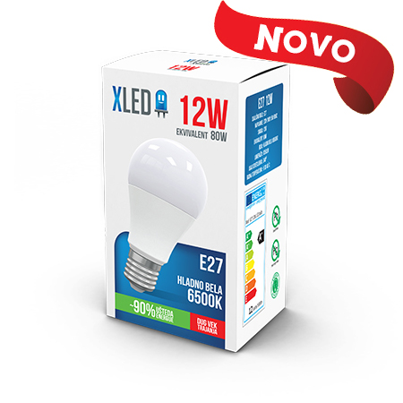 Xled E27 12W 6500K HB 01