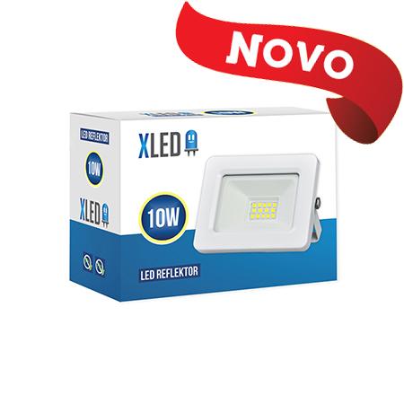 XLED 10W floodlight led reflektor white 01