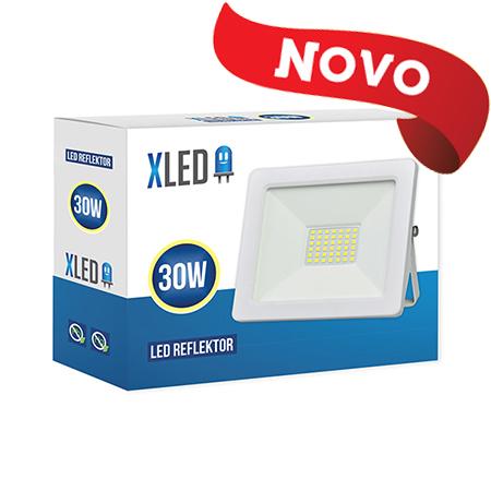 XLED 30W floodlight led reflektor white 01