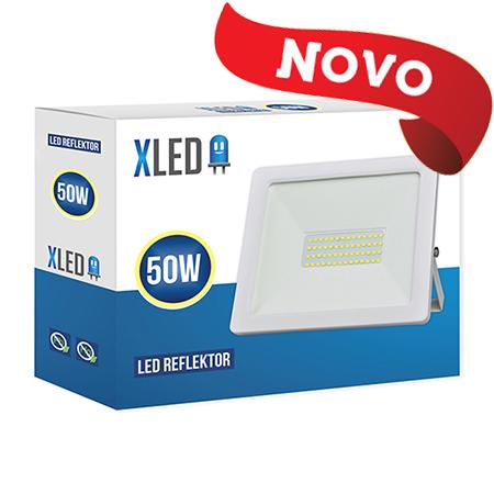 XLED 50W floodlight led reflektor white 01